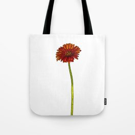 Gerbera Cartoon Tote Bag