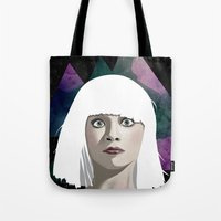chandelier Tote Bags featuring Chandelier by Vuelle