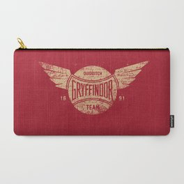 Vintage Gryffindor Quidditch Team Carry-All Pouch