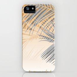 Puerto Vallarta Palms iPhone Case