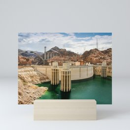 Hoover Dam & Mike O'Callaghan - Pat Tillman Memorial Bridge, Arizona Mini Art Print