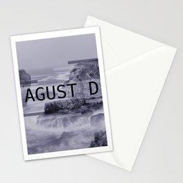 Agust D Kpop Stationery Cards