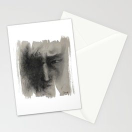 The Charcoal drawing Stationery Cards