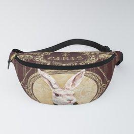 Chocolate rabbit Fanny Pack