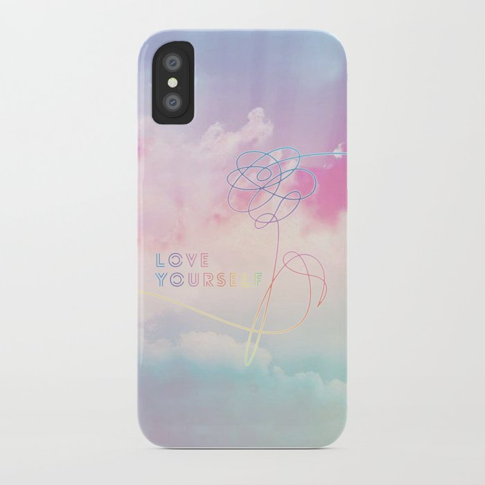 Bts Love Yourself Her Pastel O Version Iphone Case By Hellodigitals