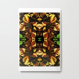 Colorful Coleus Metal Print
