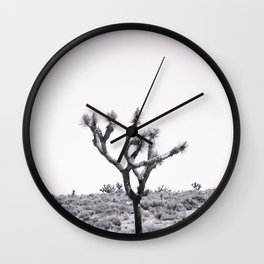 Joshua Tree Monochrome, No. 2 Wall Clock