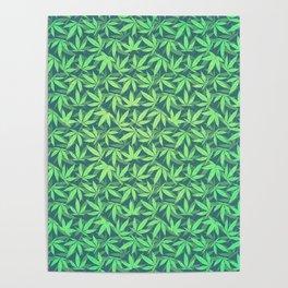 Cannabis / Hemp / 420 / Marijuana  - Pattern Poster