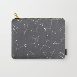 Zodiac Constellation Astrological Print Carry-All Pouch