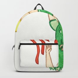 Gretel and Red Candy String Backpack