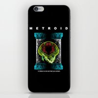 metroid iPhone & iPod Skins featuring Metroid by MeleeNinja