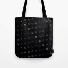 Dungeons and Dragons Aesthetic Dice Tote Bag