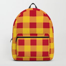Red and Yellow Buffalo Check - more colors Backpack