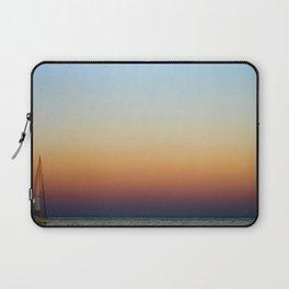 Single Sailboat Laptop Sleeve