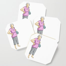 A lady Coaster