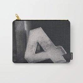 Number Crazy #4 Carry-All Pouch