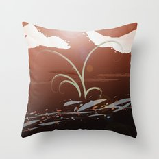 Streamside Throw Pillow