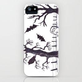 Creepy Trees iPhone Case
