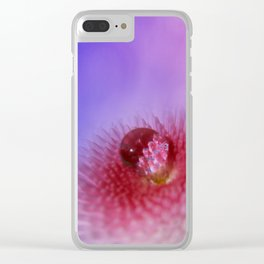 Bellis and clouds Clear iPhone Case