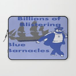 Blue Barnacles Laptop Sleeve