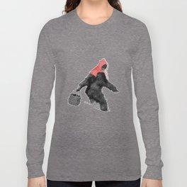 Little Red Big Foot Long Sleeve T-shirt
