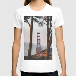 San Francisco Bridge (Color) T-shirt