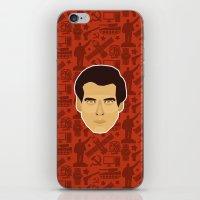 james bond iPhone & iPod Skins featuring James Bond - Goldeneye by Kuki