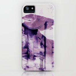 The Purple Horse iPhone Case