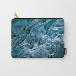 Blue Ice Glacier in Norway - Landscape Photography Carry-All Pouch