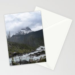 Mountains in Banff Stationery Cards