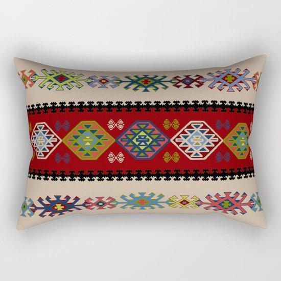 Kilim pattern #022 Rectangular Pillow