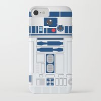 r2d2 iPhone & iPod Cases featuring R2D2 by ANDY
