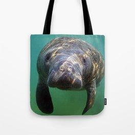 Little Manatee Tote Bag