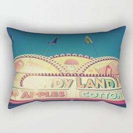 CandyLand ~ vintage-feel carnival Rectangular Pillow