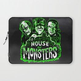 House of Monsters Phantom Frankenstein Dracula classic horror Laptop Sleeve