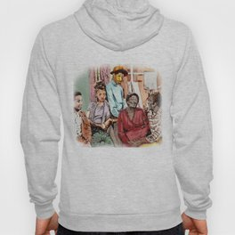 GOOD TIMES (pen sketch tribute to a classic sitcom) Hoody