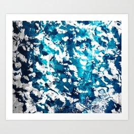 Ocean Floor Art Print