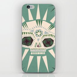 Sugar skull II iPhone Skin