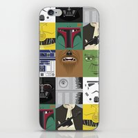 starwars iPhone & iPod Skins featuring Starwars combo by Alex Patterson AKA frigopie76
