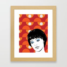 Vivre sa vie Framed Art Print