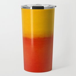 1956 Orange and Yellow by Mark Rothko HD Travel Mug