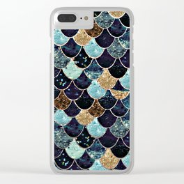 REALLY MERMAID - MYSTIC BLUE Clear iPhone Case