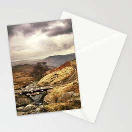 Wooden bridge on the Pass. Stationery Cards