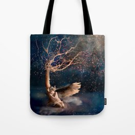 Thousand Cherry Blossoms Tote Bag