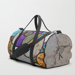 Stained Glass, panel 1 of 2 Duffle Bag