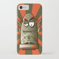 the fault iPhone & iPod Cases featuring Fault 45 01 (its not his fault) by Face Leakage