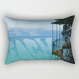 Be My Beach Rectangular Pillow