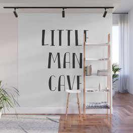 Little Man Cave Wall Mural