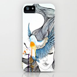 Bird Eye iPhone Case