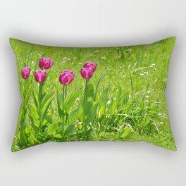 Tulips 121 Rectangular Pillow